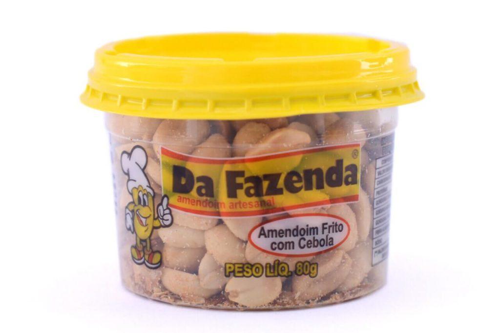 amendoim frito com cebola